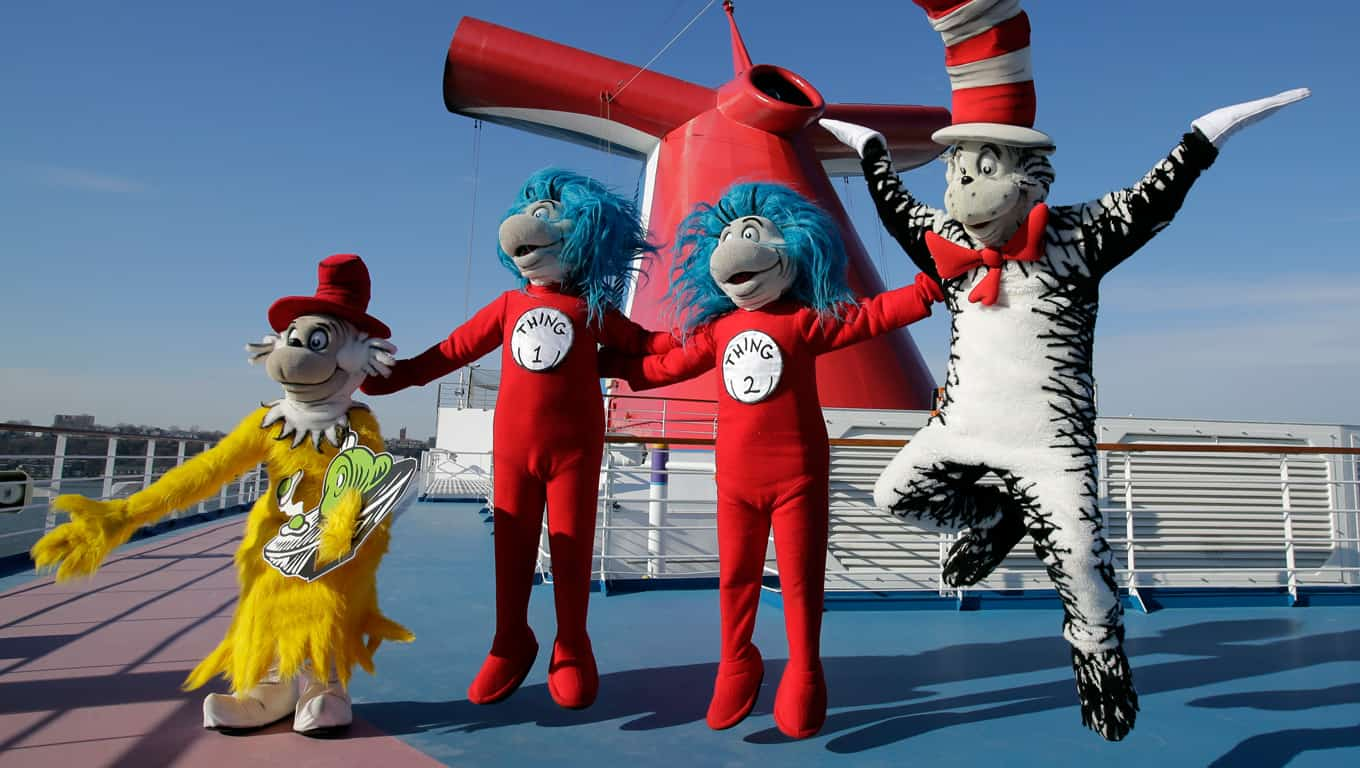 Seuss At Sea - Carnival Cruise Line