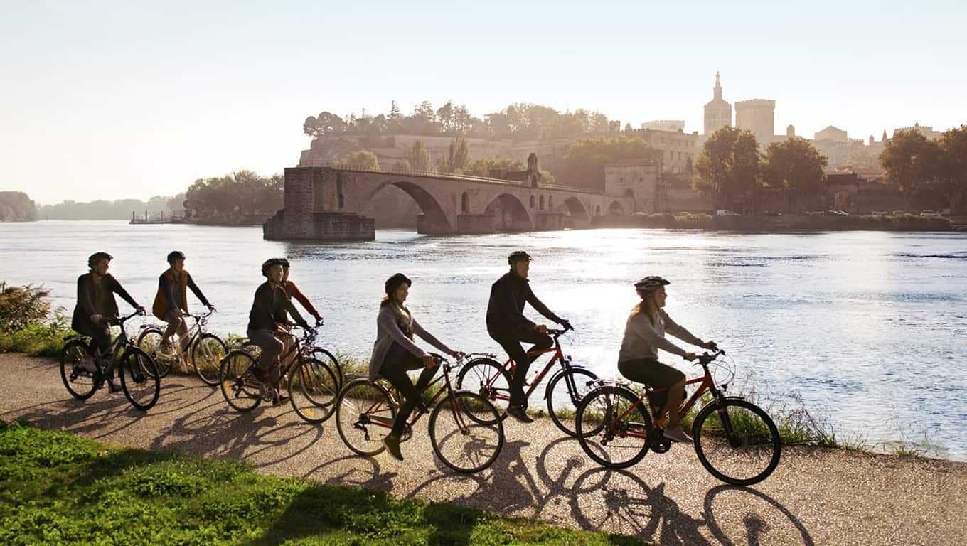 Adventures By Disney - Cycling Beside The Rhone River